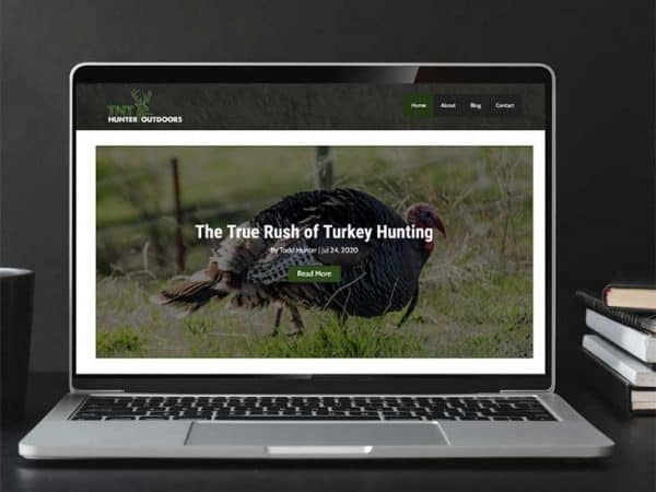 TNT Hunter Outdoors | Peak Ed Design Portfolio Website