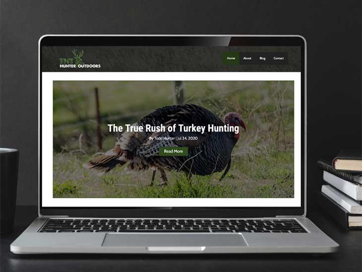 TNT Hunter Outdoors   Peak Ed Design Portfolio