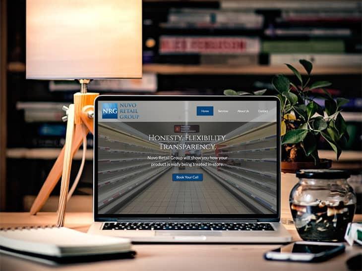 Nuvo Retail Group | Peak Ed Design Portfolio Website