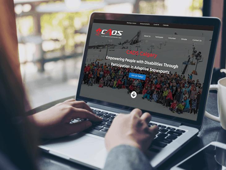 CADS Calgary | Peak Ed Designs Portfolio Website