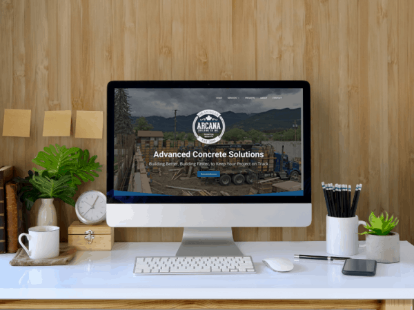 Arcana Building Co | Peak Ed Designs Portfolio Website