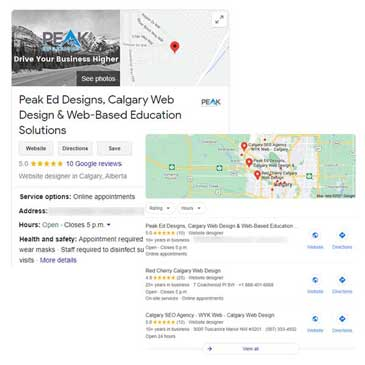 Control your Knowledge Panel and Local Pack with Google My Business   Peak Ed Designs