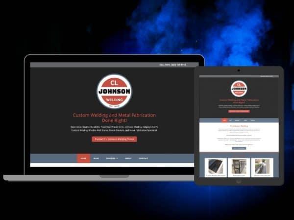 CL Johnson Welding | Peak Ed Designs Portfolio Website